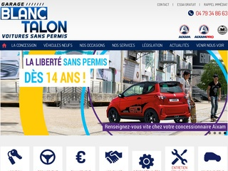 Avis garage blanc talon avis site for Garage reprenant voitures sans achat automobile