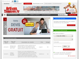 avis artisantravaux devis de travaux gratuit avis site. Black Bedroom Furniture Sets. Home Design Ideas