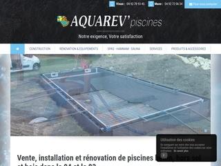 Avis aquarev 39 piscines avis site for Constructeur de piscines