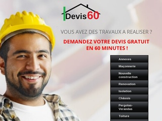 Avis devis60 avis site - Devis gratuit en ligne travaux ...