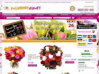 Avis fleuriste en ligne follement fleur avis site for Fleuristes en ligne