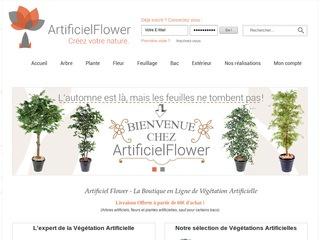 Avis artificiel flower avis site for Plante grimpante artificielle exterieur