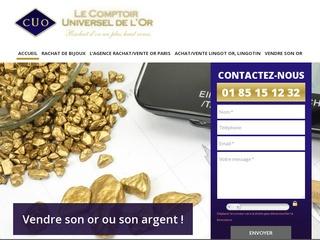 Avis comptoir universel de l 39 or avis site - Comptoir universel de l or ...