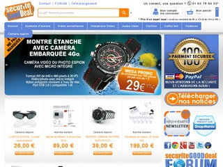 Avis securite good deal alarme et camera espion avis site for Alarme maison securite good deal