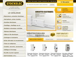 avis stockelec votre mat riel lectrique en ligne au avis site. Black Bedroom Furniture Sets. Home Design Ideas