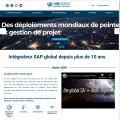 intégrateur SAP global be one solutions