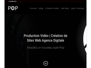 Agence vidéos, sites Web et digital Marketing