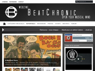 BeatChronic : Open your Musical mind