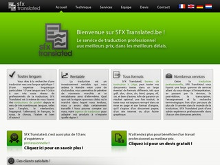 Bureau de traduction professionnel