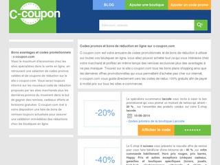 Coupon reduction posterxxl