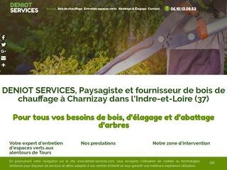 Avis deniot services avis site for Service jardinier