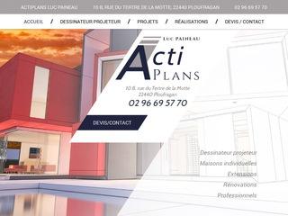 Avis actiplans bureau d 39 tude saint brieuc 22 avis site for Dessinateur bureau etude