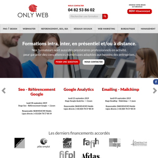 Formation referencement, SEO, référencement Google