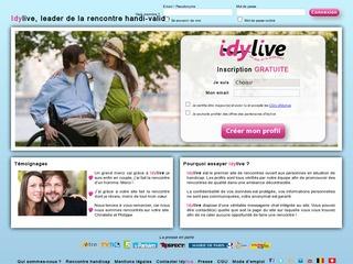 Idylive site de rencontre au-delà de la différence ! Chat handicap site rencontre