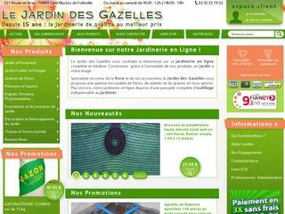 avis jardin des gazelles jardinerie en ligne plante avis site. Black Bedroom Furniture Sets. Home Design Ideas