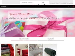 Avis decotextile linge de maison d co avis site - Linge de maison en ligne ...