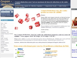 Les coupons de réduction du web