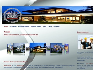 Avis steeleco avis site for Maison ossature metallique avis