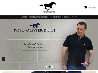 Olivier Brice : Le Polo made in France haut de gamme