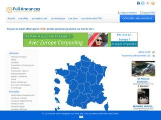 Passer une annonce immobilière gratuite sur la France