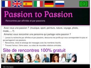 site de rencontres passions