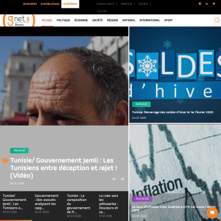 Site d'actualité en Tunisie et à l'international