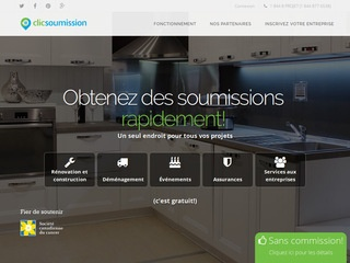 avis clic soumission avis site. Black Bedroom Furniture Sets. Home Design Ideas