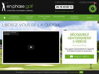 Stage golf complet