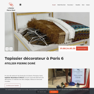 Tapissier décorateur à Paris 6