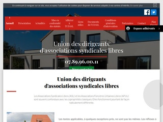 UDSAL - Statut association syndicale libre