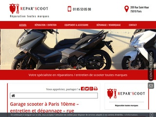 Avis reparation scooter avis site for Garage reparation scooter