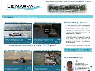 bateau ecole le narval